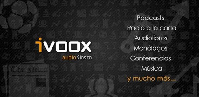 Ivoox, varios de sus servicios